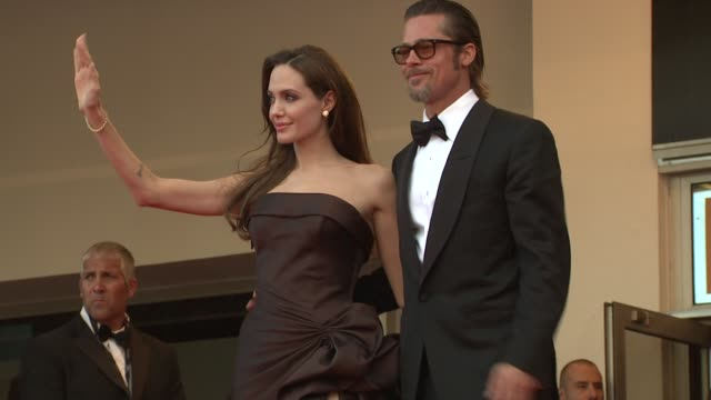 year in focus - brad pitt actor stock videos & royalty-free footage