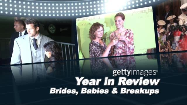 vidéos et rushes de year in review: brides, babies and break-ups - alyssa milano