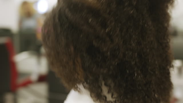 4 year old boy getting his very first haircut. - wet hair stock videos & royalty-free footage