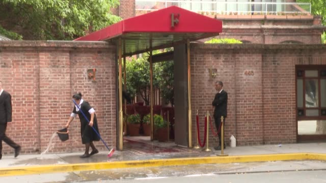 a 50 year old british tourist died and his 28 year old son was wounded after being shot in a robbery attempt in front of a luxurious hotel in puerto... - buenos aires stock videos & royalty-free footage