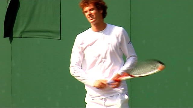 Year review July December 2008 Andy Murray training