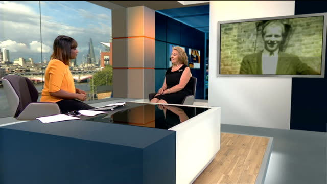 50 years since the end of capital punishment in Britain ENGLAND London GIR INT Maria Bentley Dingwall LIVE studio interview SOT