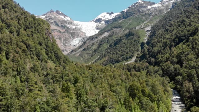 yelcho glacier in the chilean patagonia - south stock videos & royalty-free footage