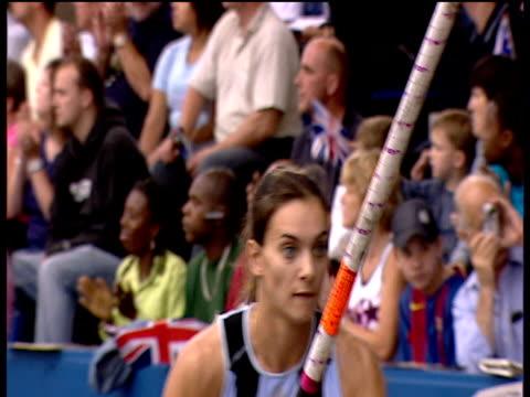 Yelena Isinbayeva clears 480m in Woman's Pole Vault 2005 Crystal Palace Athletics Grand Prix London
