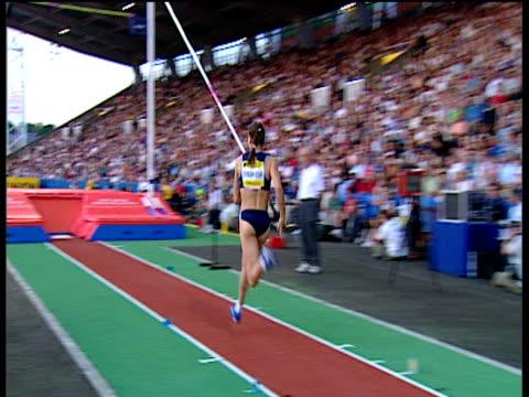 Yelena Isinbayeva sets Stadium Record of 480m Women's Pole Vault 2004 Crystal Palace Athletics Grand Prix London
