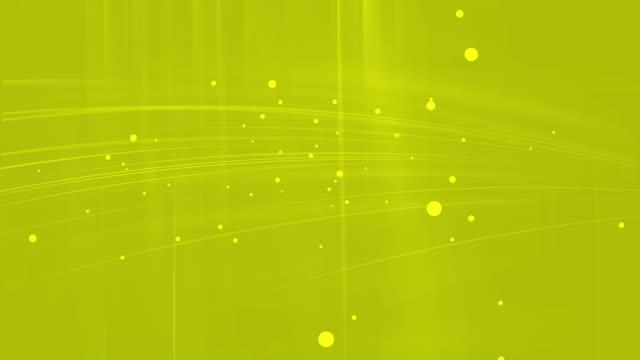 Gelbe abstrakte Technologie-Hintergrund, nahtlose Schleife