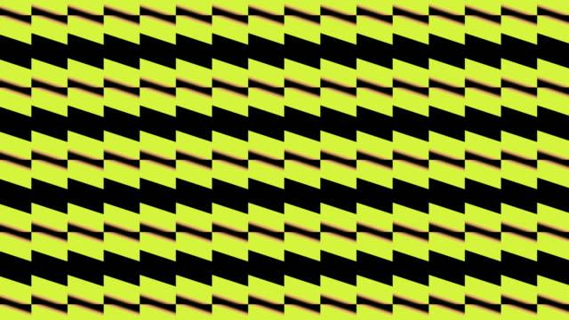 黄色と黒の幾何学的形状,パターンモーション - 投影図点の映像素材/bロール