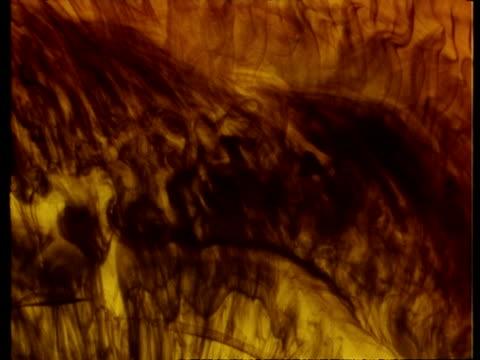 vidéos et rushes de yellow and brown space effects - effet visuel