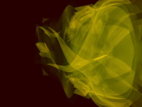 yellow and green light shapes - squiggle stock videos & royalty-free footage