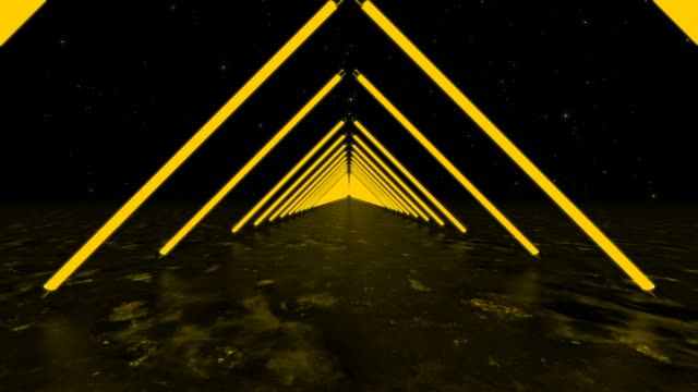 yellow background triangles - infinity stock videos & royalty-free footage