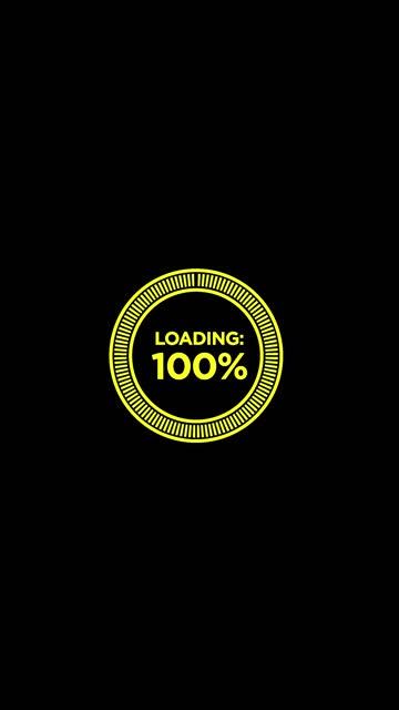 vidéos et rushes de jaune - noir et pastel couleur cercle chargement barre de progression animation vidéo de stock d'arrière-plan - fond multicolore