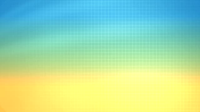 Yellow Blue Grid Background (Loopable)