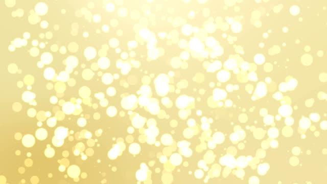 黄色いボケ抽象的な光の背景 - 滑らか点の映像素材/bロール
