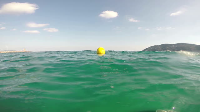 yellow buoy - rubber ring stock videos & royalty-free footage