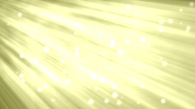 Giallo sfondo in movimento con luce travi
