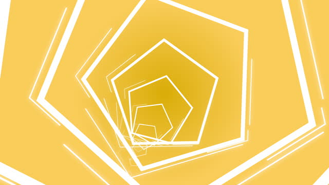 yellow neon hexagon shape lights, is a shape that goes into the hole. - design element stock videos & royalty-free footage