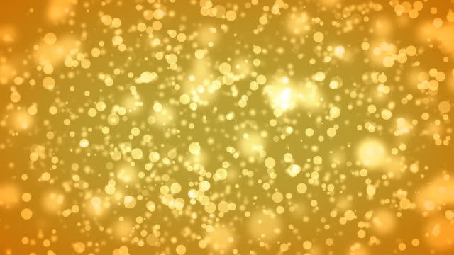 Yellow particles (HD)