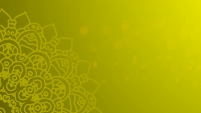 Yellow Ramadhan Background