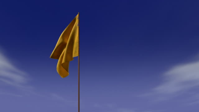 yellow signal flag - woven stock videos & royalty-free footage