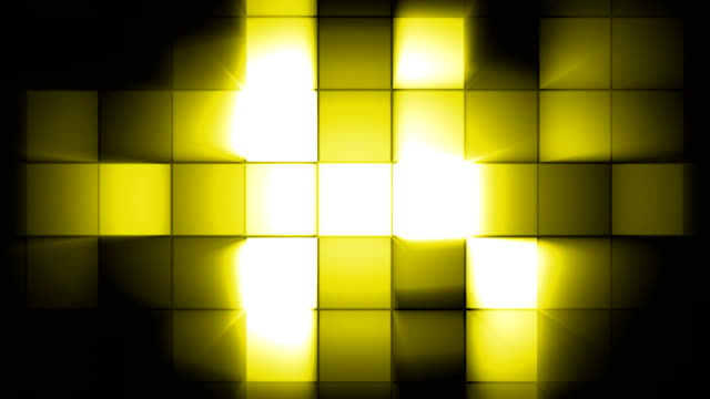 Yellow Square Flash Light