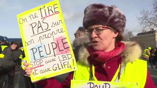 Yellow vest protesters in Paris meet for a 13th weekend of demonstrations and are still calling for Emmanuel Macron's resignation and the...