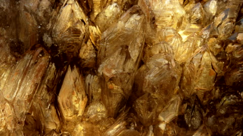 yellow-amber crystal - mineral stock videos & royalty-free footage