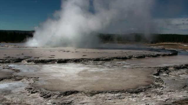 Yellowstone-Geysir