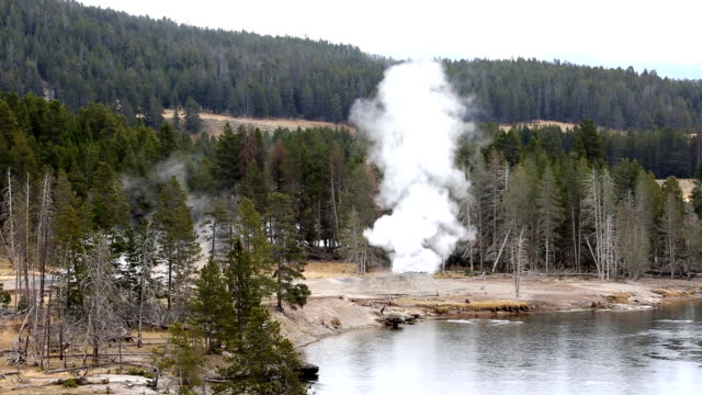 yellowstone river sulfur - river yellowstone stock videos and b-roll footage
