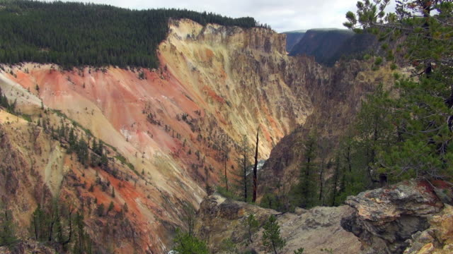 Yellowstone's Grand Canyon From Uncle Tom's Trail