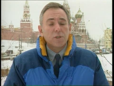 yeltsin resigns as president; ext i/c - boris yeltsin stock videos & royalty-free footage