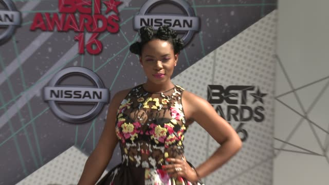 Yemi Alade at 2016 BET Awards in Los Angeles CA