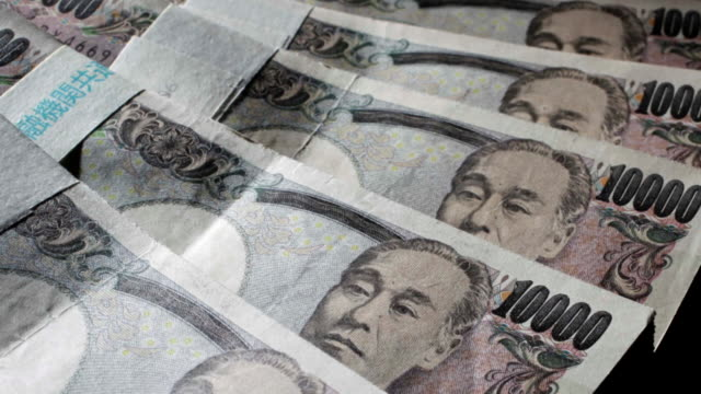 cu yen banknotes - currency stock videos & royalty-free footage