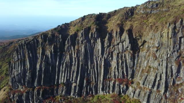 Yeongsilgiam (natural landmark made up of a group of volcanic rocks) in Jeju Island