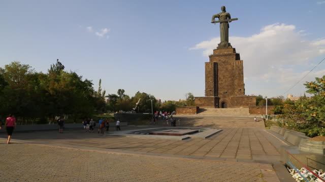 Yerevan, mother Armenian statue, Victory park