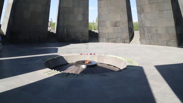 Yerevan, Tsitsernakaberd (Armenain Genocide) memorial to the victims of the Armenian genocide