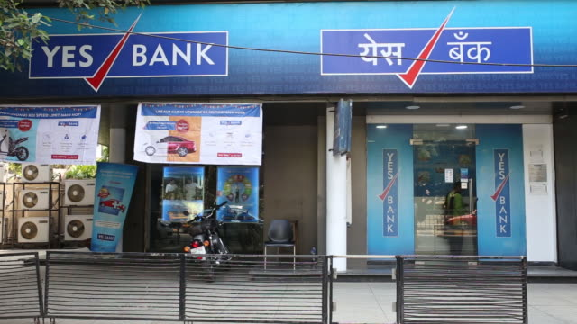 A Yes Bank in Mumbai India on Saturday April 21 2018