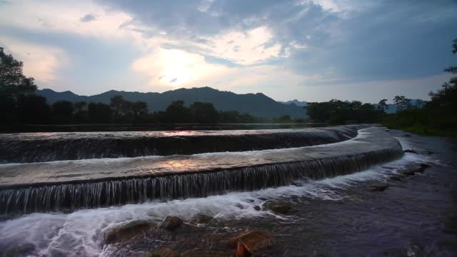 Yijiang River in Guilin, Lingui, China