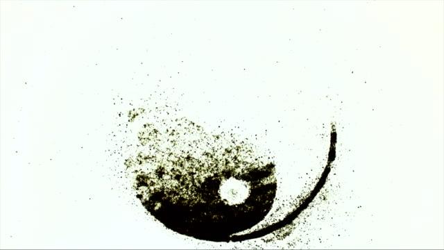 vídeos de stock, filmes e b-roll de yin yang  - símbolo