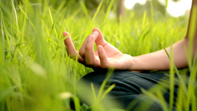 Yoga concept.