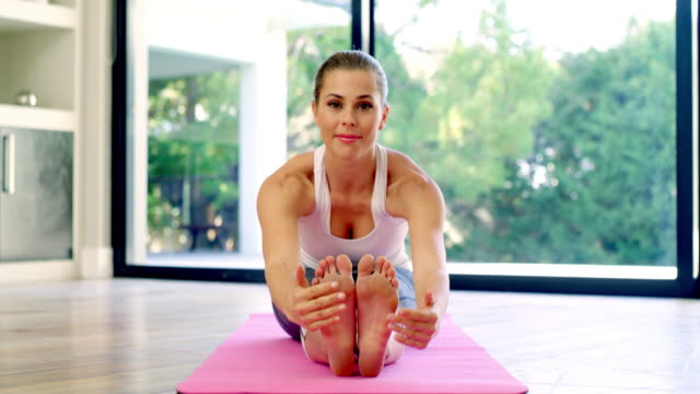 a yoga session is a must... - pilates stock videos & royalty-free footage