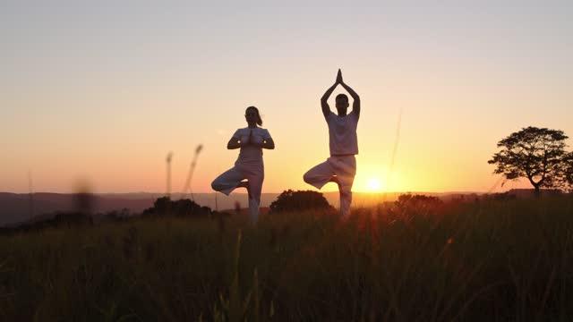 vídeos de stock, filmes e b-roll de yoga - dia