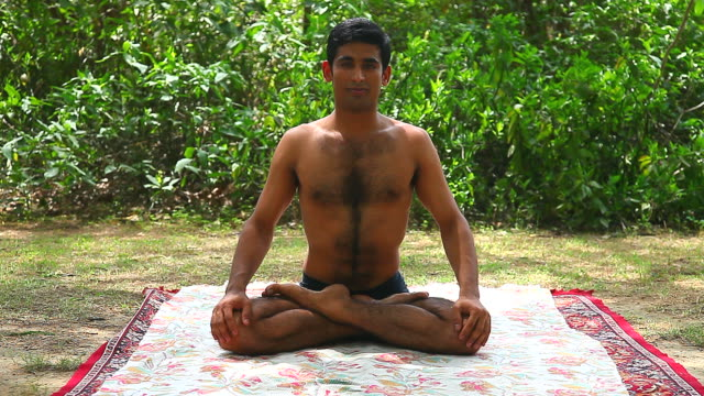 yoga - good posture stock videos & royalty-free footage