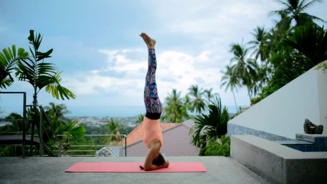 yoga - thailand stock videos and b-roll footage