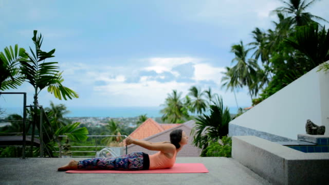 yoga - non urban scene stock videos & royalty-free footage