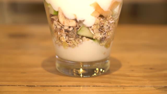 yogurt with mixed fruit