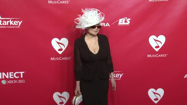 Yoko Ono at 22nd Annual MusiCares Benefit Gala Honoring Sir Paul McCartney on 2/10/2012 in Los Angeles CA