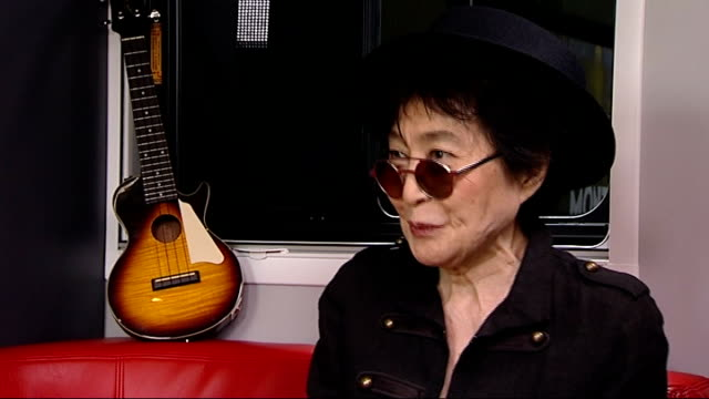 Yoko Ono curates 'Meltdown' festival Yoko Ono interview Ono interview SOT because its magical and I'm sure they are going to find their own magic...