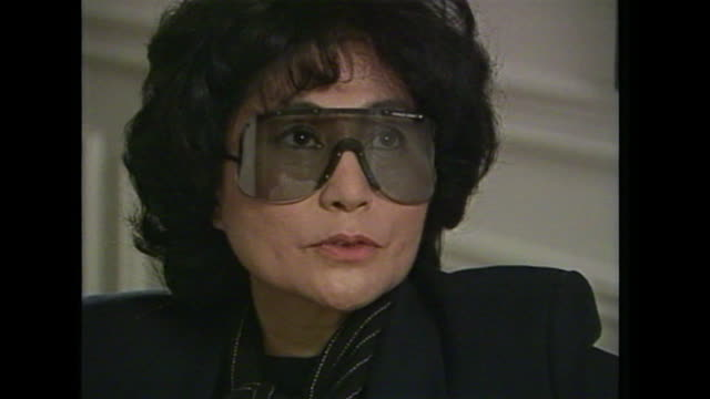 Yoko Ono saying John Lennon 'was that sort of person who was constantly looking for challenge and new inspiration'