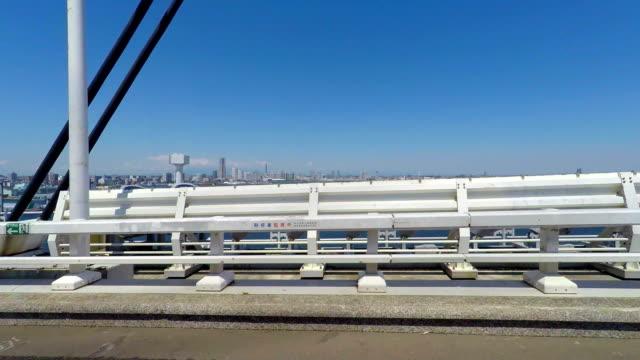 Yokohama Blick von der Brücke an der Yokohama Bucht