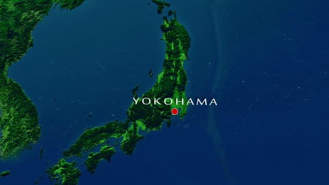 横浜のズームイン - ズームイン点の映像素材/bロール